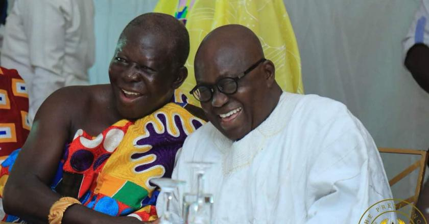 President Akufo-Addo welcomes Asantehene's decision to release lands for health development projects