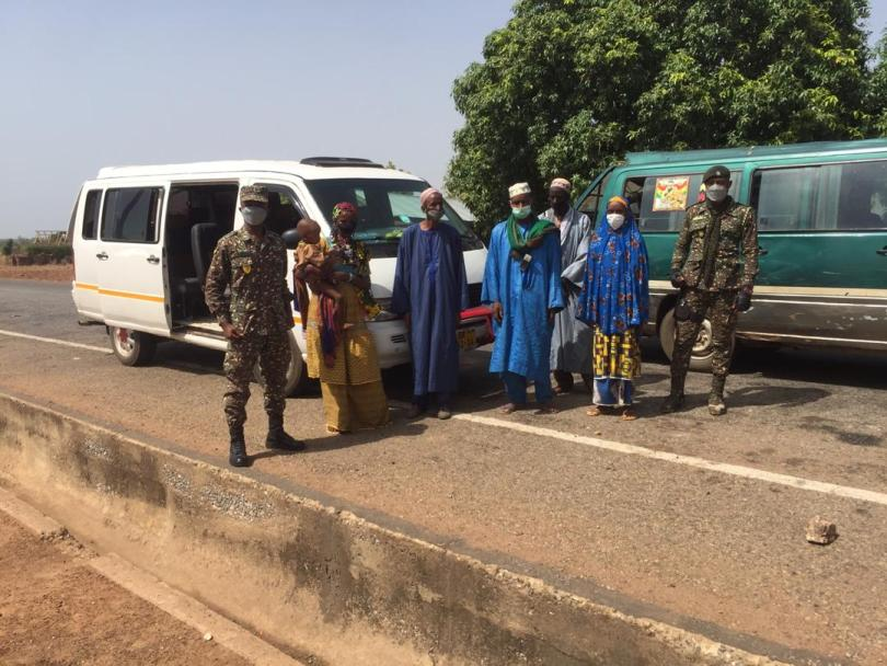 Immigration patrol arrest six Burkinabes for illegal entry to Ghana