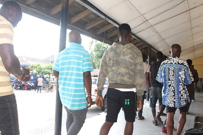 Two suspected armed robbers arrested.