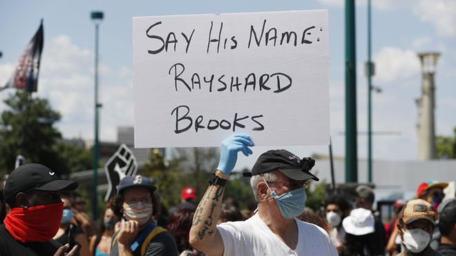 Atlanta police chief resigns over shooting of Rayshard Brooks