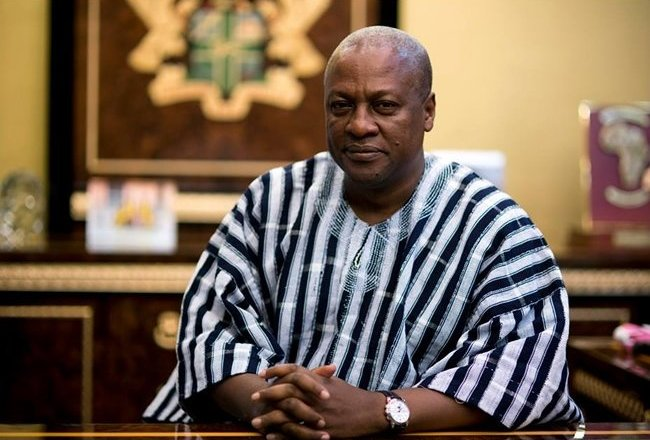 Mahama urges youth to vote for NDC