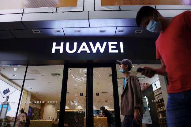 China media blasts UK Huawei ban