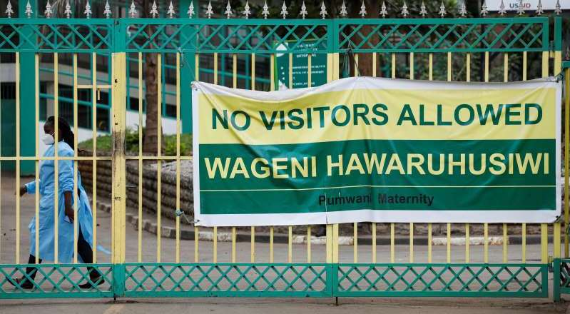 COVID-19 kills 4 Kenyan health workers, infections at maternity hospital rise