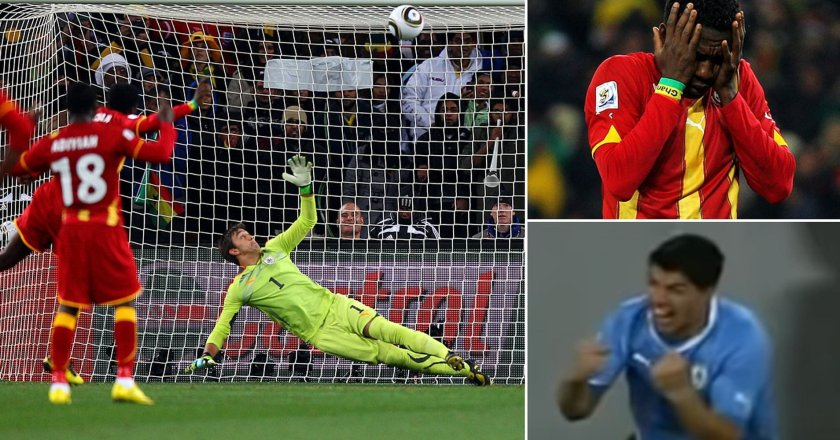 Today In History: 10 years ago today in South Africa Asamoah Gyan broke the hearts of Ghanaians
