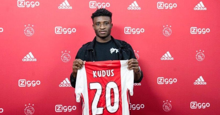 Breaking News: Kudus Mohammed completes Ajax switch