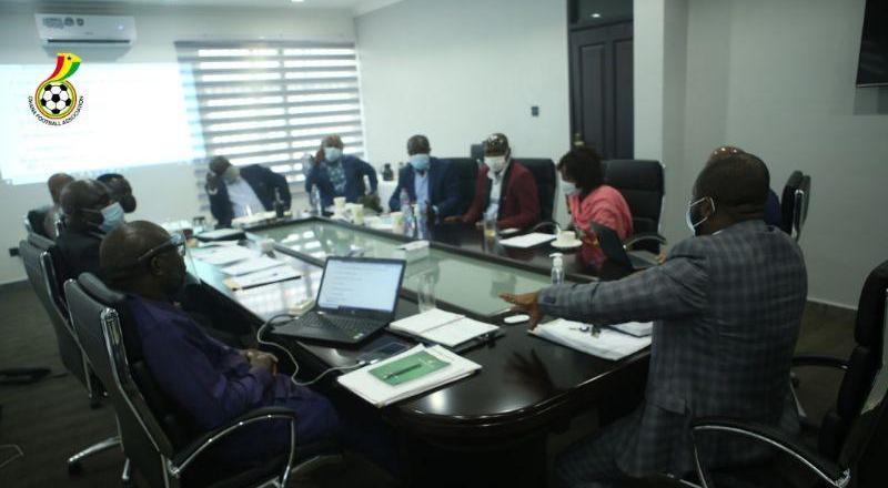 GFA executive council meet to discus new season and congress