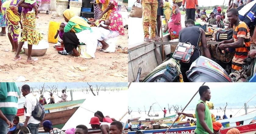 Bui Dam fisher folks defy COVID-19 safety protocols
