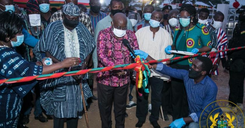 President Akufo-Addo commissions Yapei Water Project