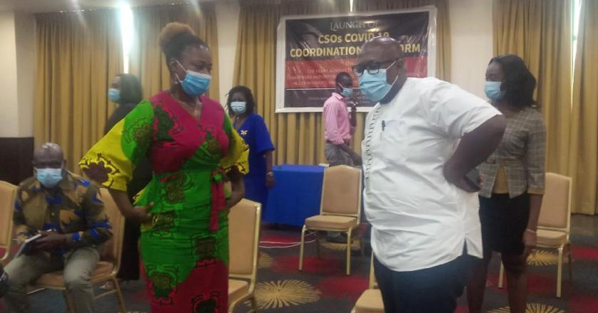 Ghana CSOs COVID-19 Response Platform launched