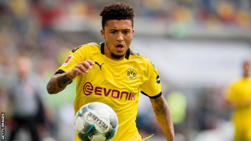 Jadon Sancho: Borussia Dortmund set deal deadline for Man Utd target