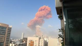 Beirut blast: Explosion rocks city ahead of Hariri verdict