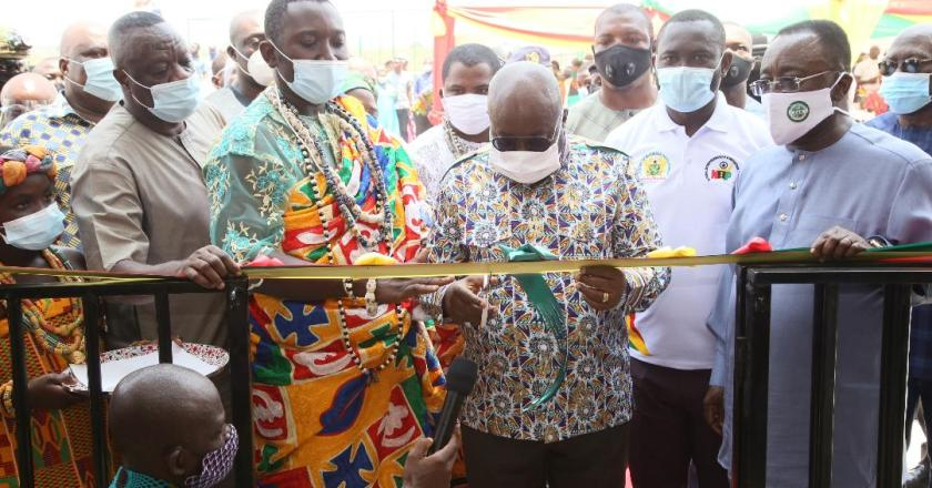 President commissions Greenhouse Estate Project and Entrepreneurship Innovation centre