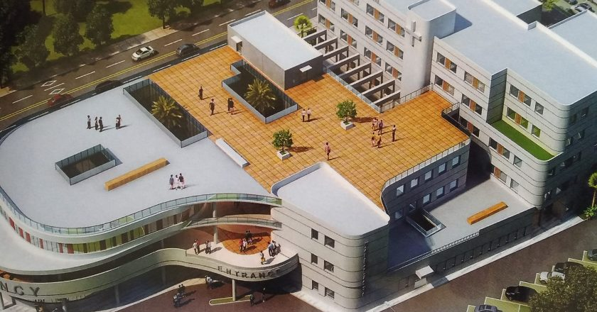 President Akufo-Addo cuts sod for €68 million La General hospital redevelopment project