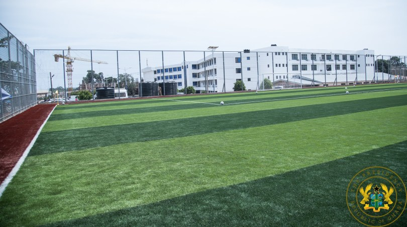 President Akufo-Addo commissions AstroTurf facility at UPSA