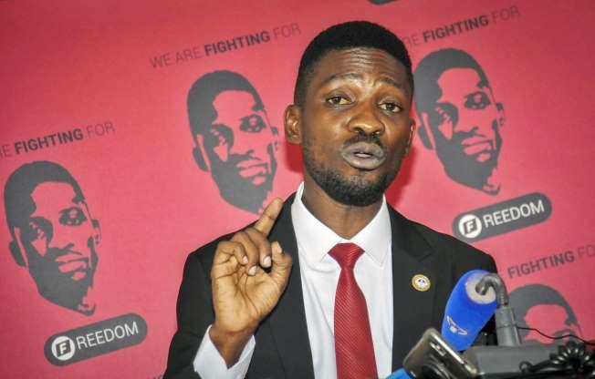Uganda's Bobi Wine complains of threats to presidential bid