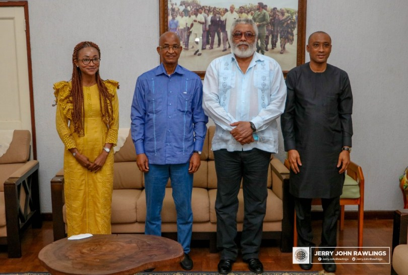 Rawlings calls for a united Guinea, asks political actors to show leaderships