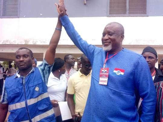 NPP's Hopeson Adoye takes over NCCE debate in Kpone