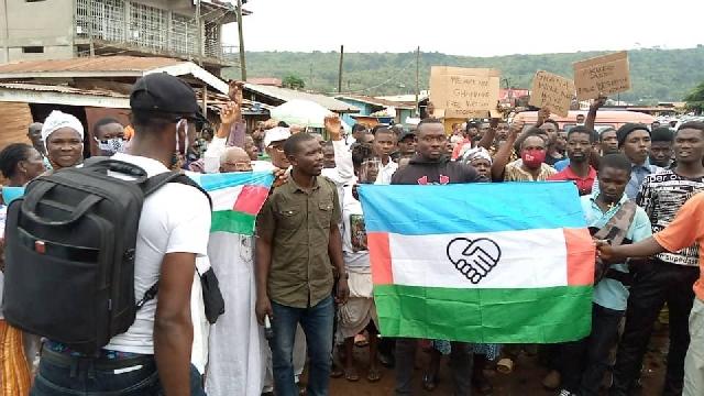 Western Togoland Separatists block eastern boundary