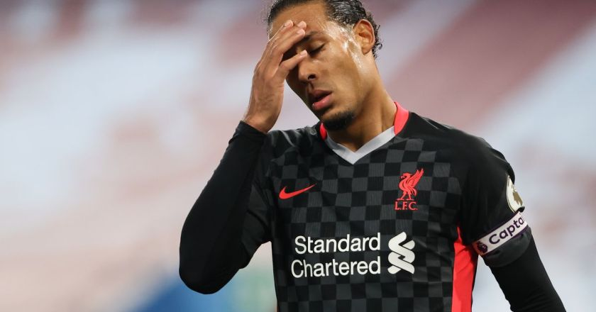 Chelsea manager Frank Lampard questions impact of injury to Liverpool defender Virgil van Dijk