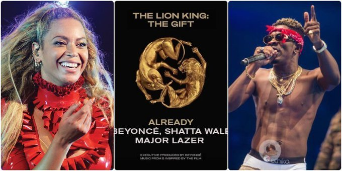 Beyonce submits Already , with Shatta Wale to be considered for Grammy Nomination