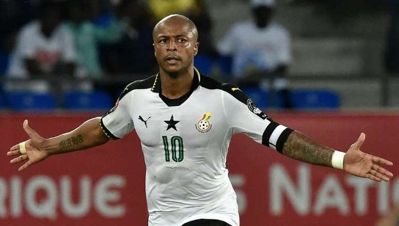 Ayew brothers arrive in Turkey for Mali game