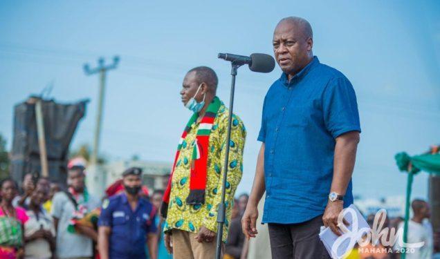 Economy hits historic low under Akufo-Addo – Mahama