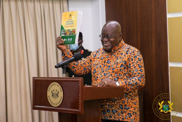 President Akufo-Addo Launches 2017/2018 Census On Agriculture Report, After 33 Year Break