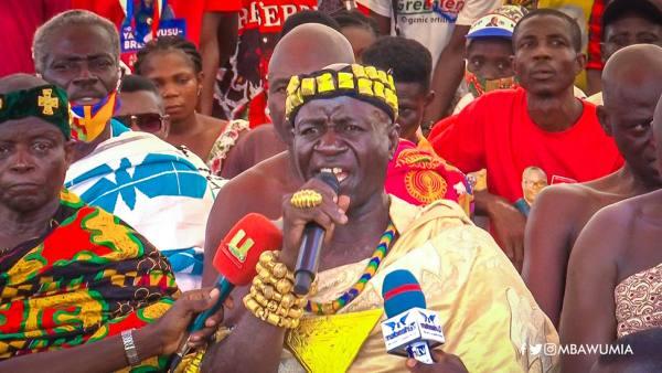 Nkaseim chife praises Akufo-Addo for ending 40-year wait for a Region