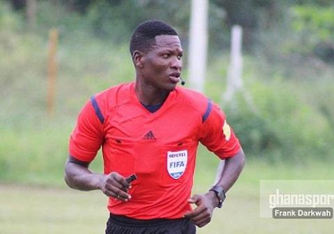 Ghanaian referee Daniel Laryea to handle Cape Verde-Rwanda afcon qualifier
