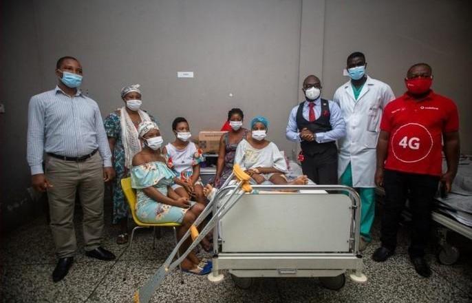 Survivors of gruesome accident show gratitude to Vodafone Foundation