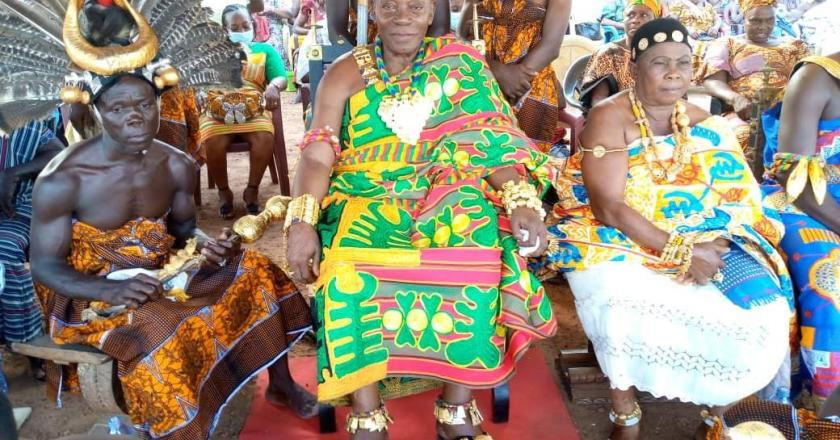 Paramount Chief describes President Akufo-Addo as a 'man of his words'