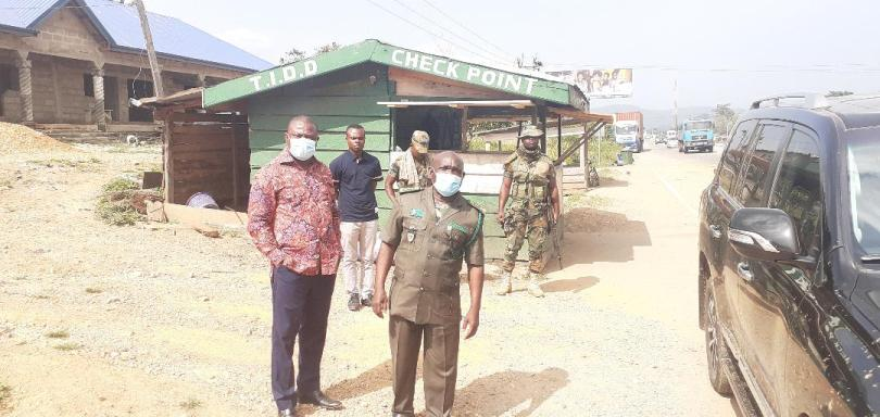 Forestry Commission dismantles two check points on Accra/Nkawkaw road
