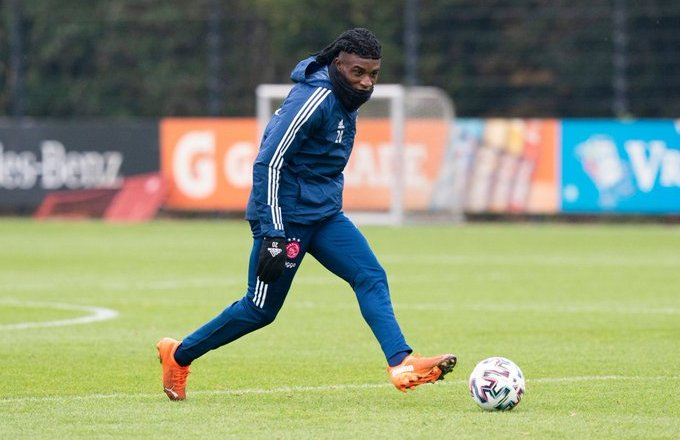 Ghana and Ajax youngster Kudus Mohammed return to training