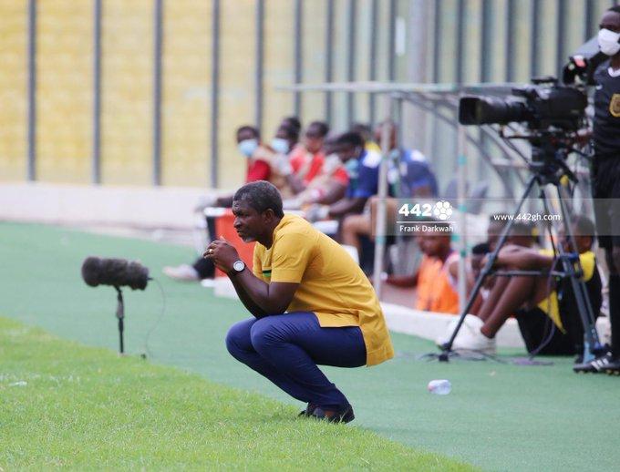 Maxwell Konadu sacked as Asante Kotoko coach