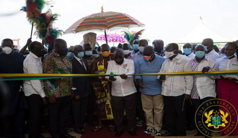 1D1F: President Akufo-Addo Commissions Bodukwan Multi-Fruit Processing Factory