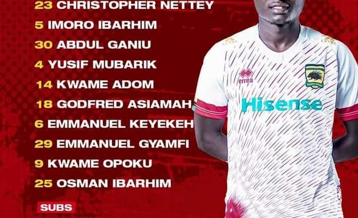 Maxwell Konadu name team for Nouadhibou duel