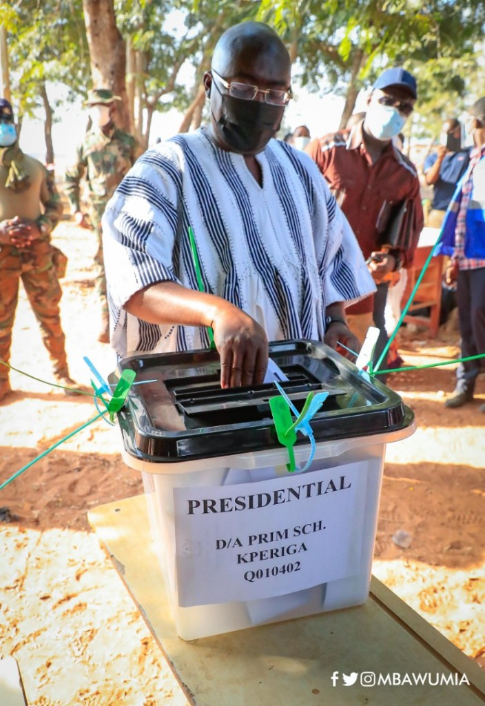 Let's make our nation proud, vote peacefully - VP Bawumia