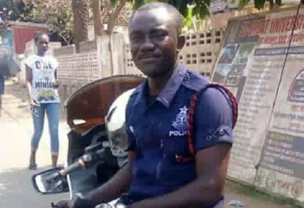 Police motor rider crushed to death in Accra