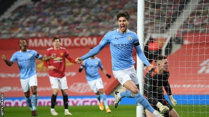 Man City beat rivals Man Utd to reach EFL Cup final