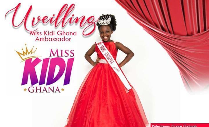 Grace Gyimah unveiled as Brand Ambassador  for Miss Kidi Ghana