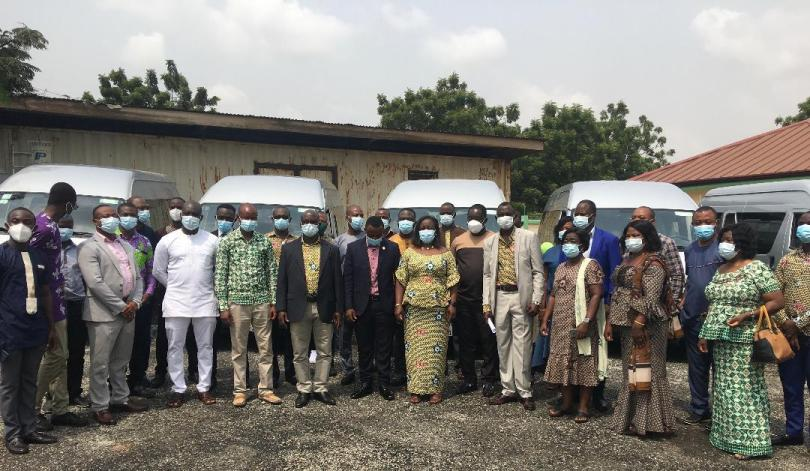 GRNMA commissions minibuses to enhance Association's activities