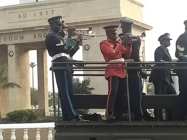 Former President Jerry John Rawlings will be buried today, Wednesday, January 27 at the new military cemetery at Burma Camp in Accra.