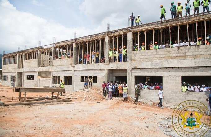 J.A Kuffuor SHS Completed – GES Announces