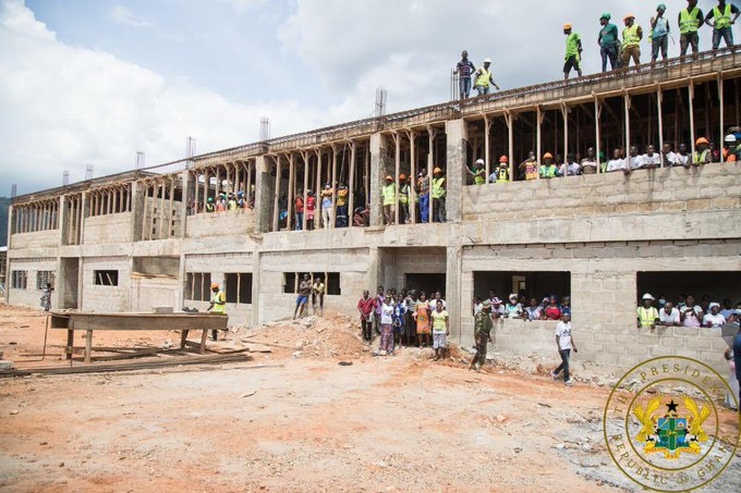 J.A Kufuor SHS Completed – GES Announces