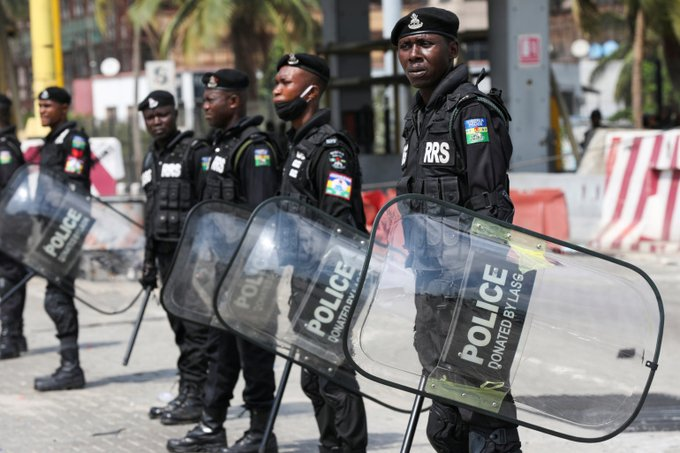 Nigerian police beat, arrest protesters at site of Lekki shooting