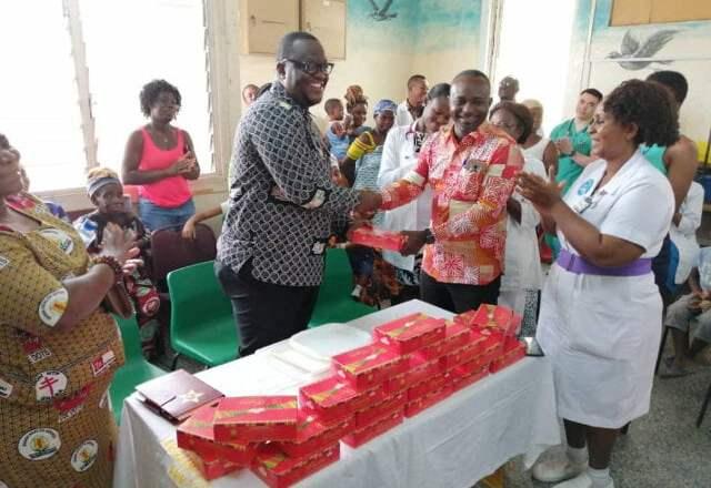 Tourism Authority supplies chocolate products to Effia Nkwanta Hospital