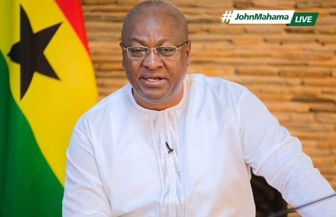 John Mahama Kicks Against First Lady's Salary