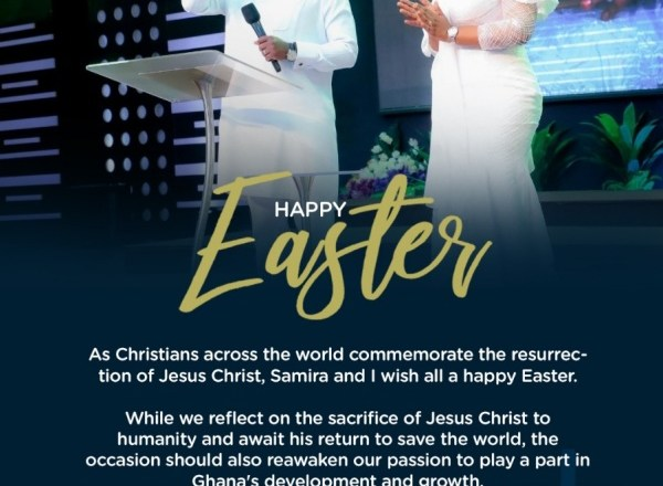 Easter Should Remind Us To Exhibit The Christ-Like Trait Of Personal Sacrifice For Humanity- Vice President Bawumia