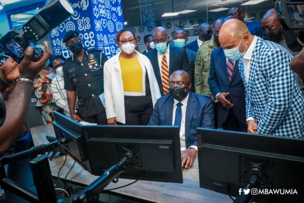 VP Bawumia Launches NPA's Digital Retail Outlet Fuel Monitoring System