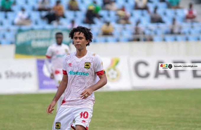 Fabio Gama's strike sends Asante Kotoko top